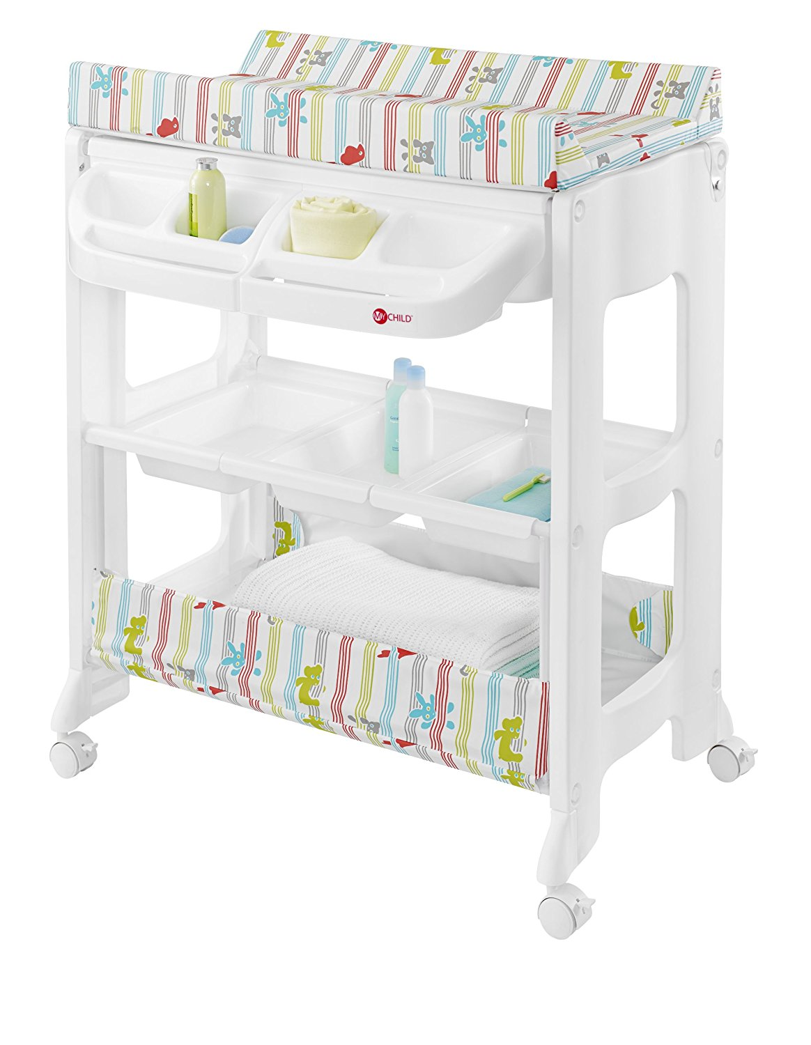 Bath changing cowans of troon baby center troon for Changing table for bathroom